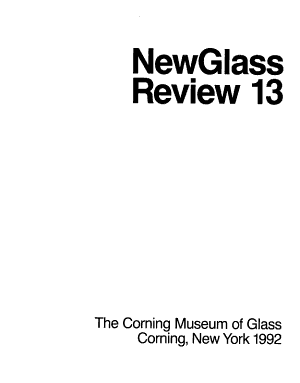 New Glass Review PDF