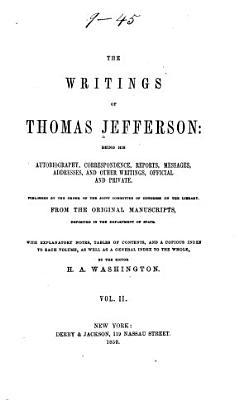 The Writings of Thomas Jefferson  Correspondence PDF