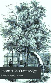Memorials of Cambridge: St. Peter's College