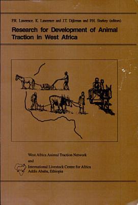 Recherche Pour Le D  veloppement de la Traction Animale en Afrique de L Ouest