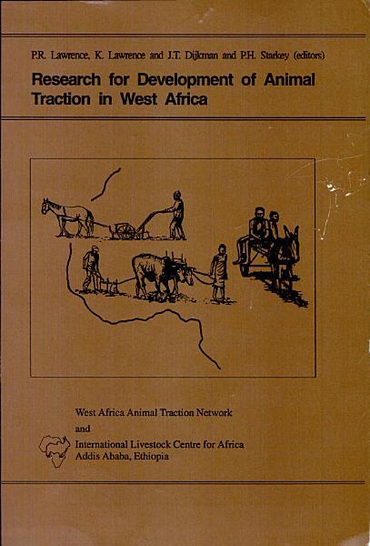 Recherche Pour Le Développement de la Traction Animale en Afrique de L'Ouest