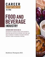 Career Opportunities in the Food and Beverage Industry PDF