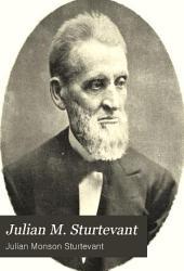 Julian M. Sturtevant: An Autobiography