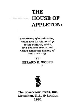 The House of Appleton PDF