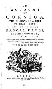 An Account of Corsica: The Journal of a Tour to that Island : and Memoirs of Pascal Paoli