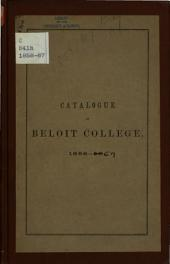 Annual Catalogue of Beloit College