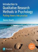 Introduction to Qualitative Research Methods EBook PDF o4 PDF