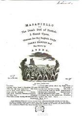 Masaniello: or The dumb girl of Portici ; a grand opera. My sister dear, Volume 7