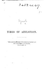 Times of Affliction. [Hymns.]