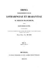 Chronique des ducs de Brabant: Volume3