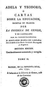 Adela y Teodoro, ó Cartas sobre la educacion