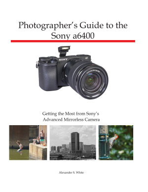 Photographer s Guide to the Sony a6400