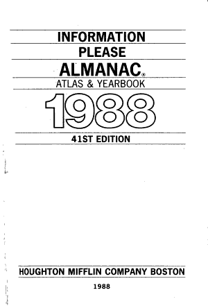 Information Please Almanac PDF