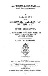 A Catalogue of the National Gallery of British Art at South Kensington