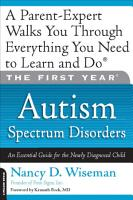 The First Year  Autism Spectrum Disorders PDF