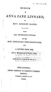 Memoir of Anna Jane Linnard