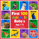 First 100 Animals Baby's Age 1-3