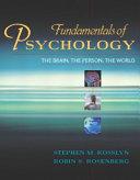 Fundamentals of Psychology PDF
