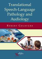 Translational Speech Language Pathology and Audiology PDF