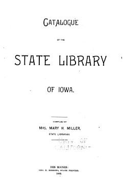 Catalogue of the State Library of Iowa PDF