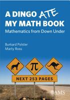 A Dingo Ate My Math Book  Mathematics from Down Under PDF