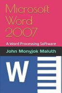 Microsoft Word 2007 PDF