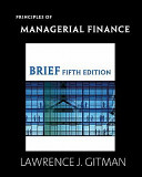Principles Of Managerial Finance Myfinancelab Student Access Kit Principles Of Managerial Finance Study Guide Book PDF