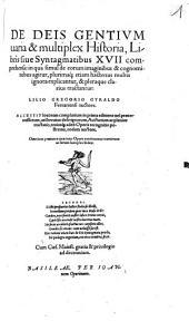 De deis gentium ... historia