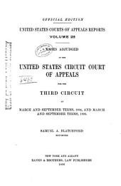 United States Courts of Appeals Reports: Cases Adjudged in the United States Circuit Court of Appeals, Volume 28
