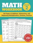 Math Workbook Grade 2