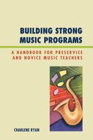 Building Strong Music Programs PDF
