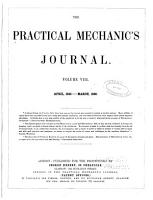 The Practical Mechanic s Journal PDF