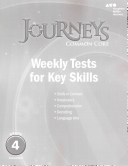 Journeys Common Core Weekly Assessments Grade 4 PDF