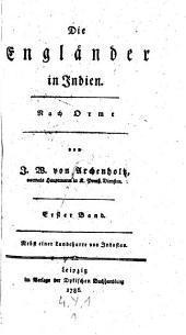Die Engländer in Indien, nach Orme. Nebst einer Landcharte. Bd 1-3. - Leipzig, Dyk 1786-1788: Bände 1-3