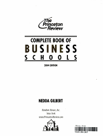 Complete Book of Business Schools PDF