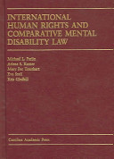 International Human Rights and Comparative Mental Disability Law PDF