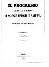 Il Progresso giornale italiano di scienze mediche e naturali PDF