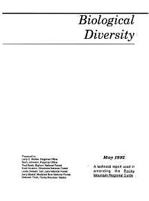 Biological Diversity PDF