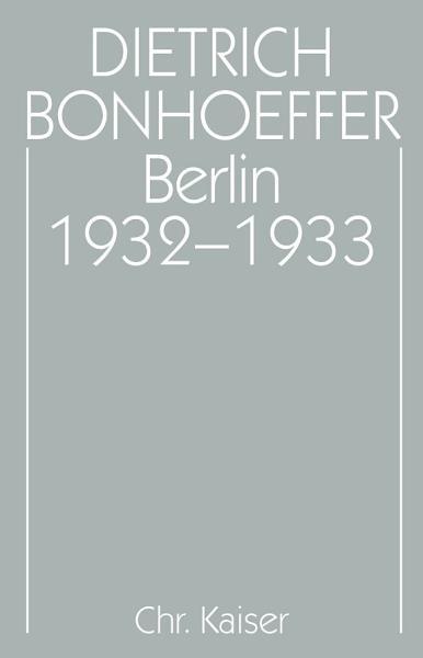 Berlin 1932 1933 PDF