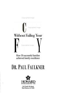 Achieving Success Without Failing Your Family