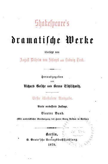 Einnleitungen  Der Sturm  Hamlet  Prinz von D  nemark  Der Kaufmann von Venedig  Wie es euch gef  llt  Der Widerspenstigen Z  hmung PDF