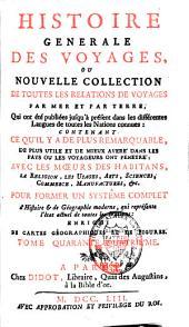 Histoire générale des voyages: Volume44