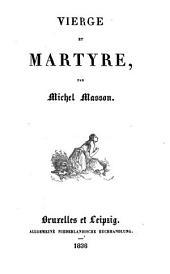 Vierge et martyre