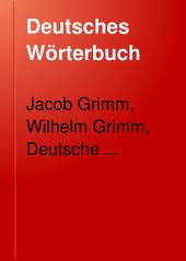 Deutsches Wörterbuch: Band 4,Teile 1-2
