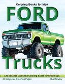 Coloring Books for Men Ford Trucks