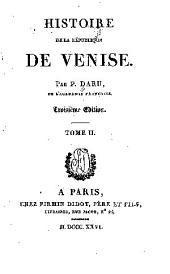Histoire de la république de Venise: Volume2