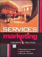 Service Marketing  Concepts   Practices PDF