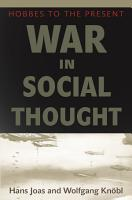 War in Social Thought PDF