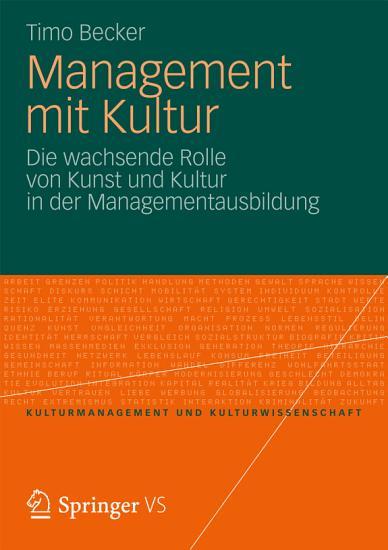 Management Mit Kultur PDF