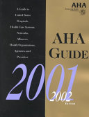 AHA Guide to the Health Care Field PDF